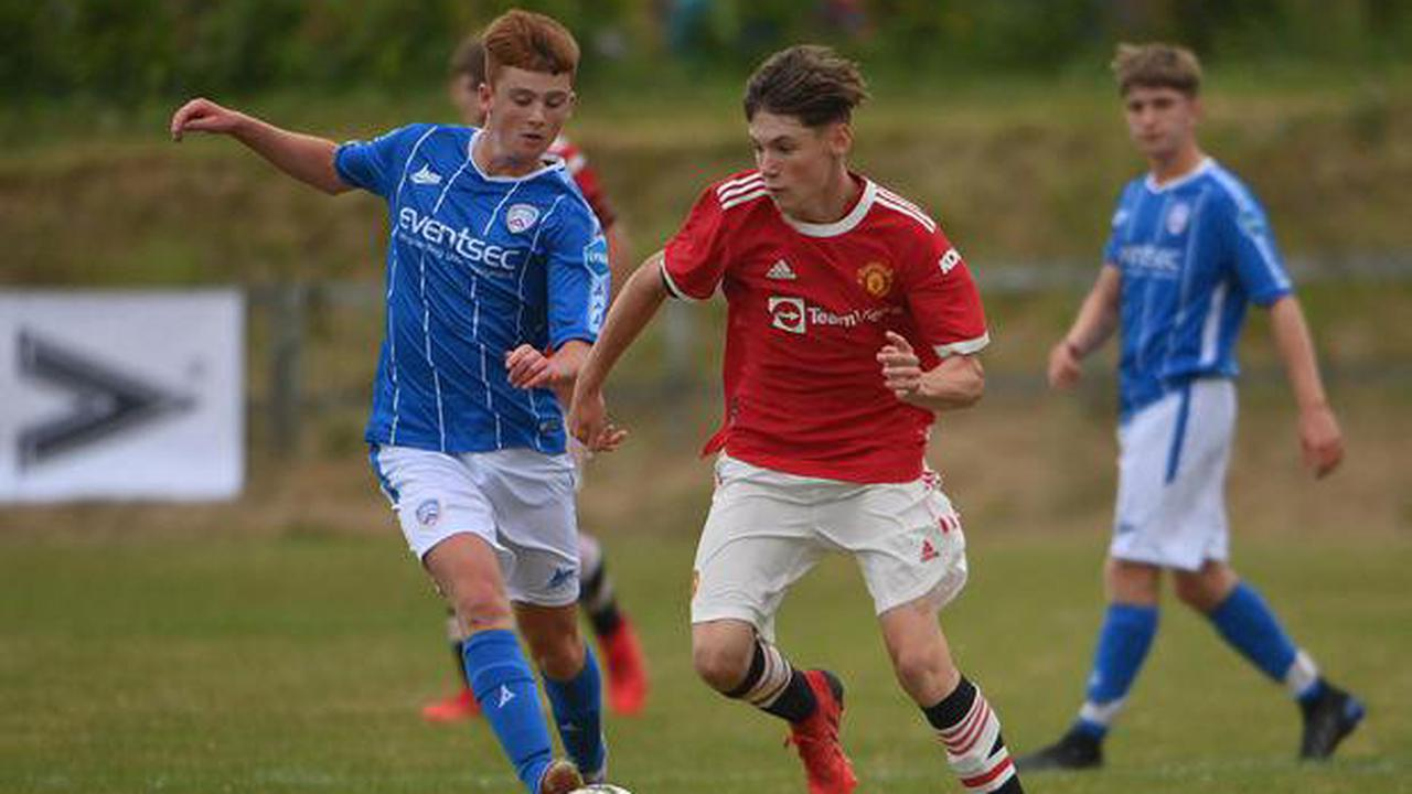 Manchester United kids too strong for Coleraine's young guns inSuperCupNI