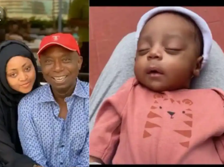 Regina Daniel's Baby, Munir Verified On Instagram, Becomes Youngest Nigerian To Be Verified.