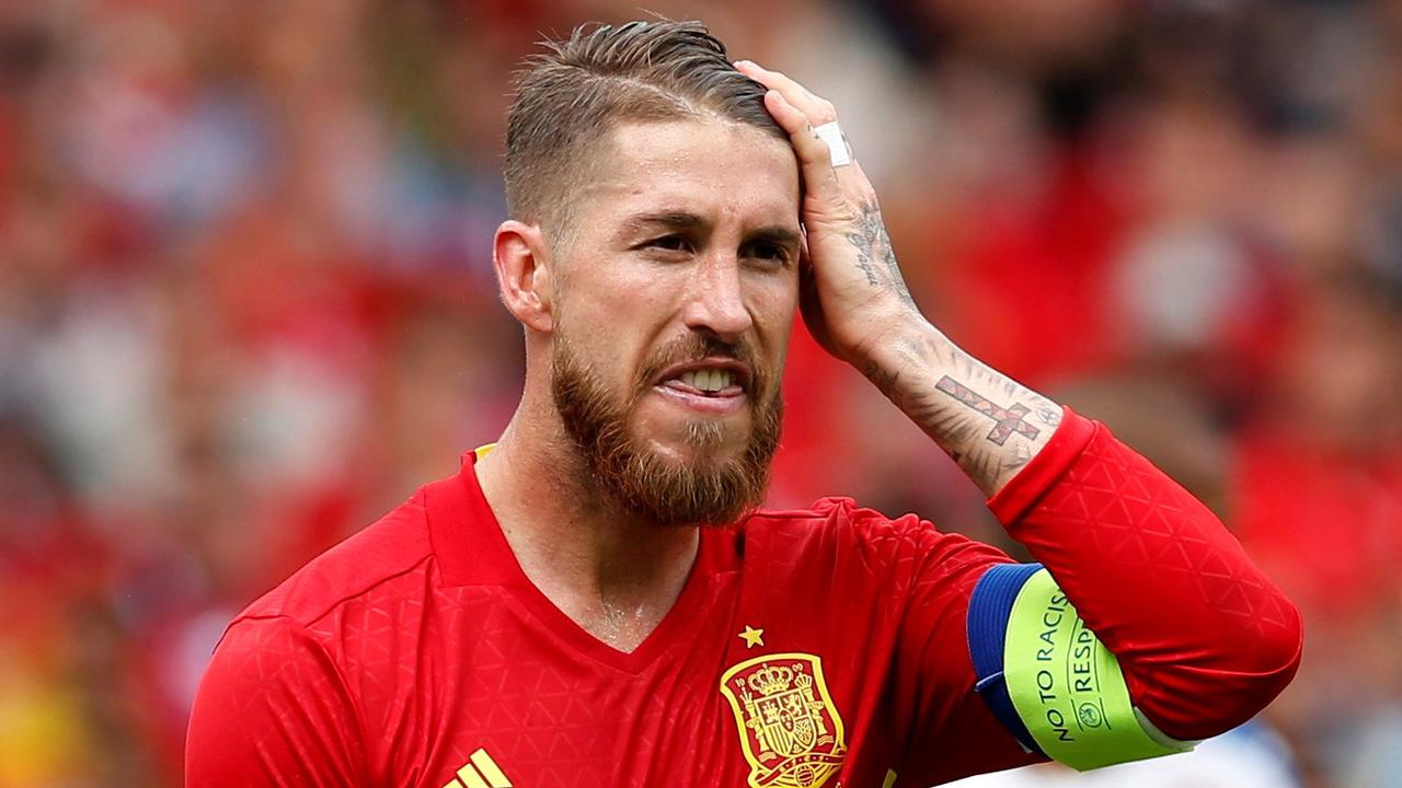 Why is Sergio Ramos not playing for Spain at Euro 2020?