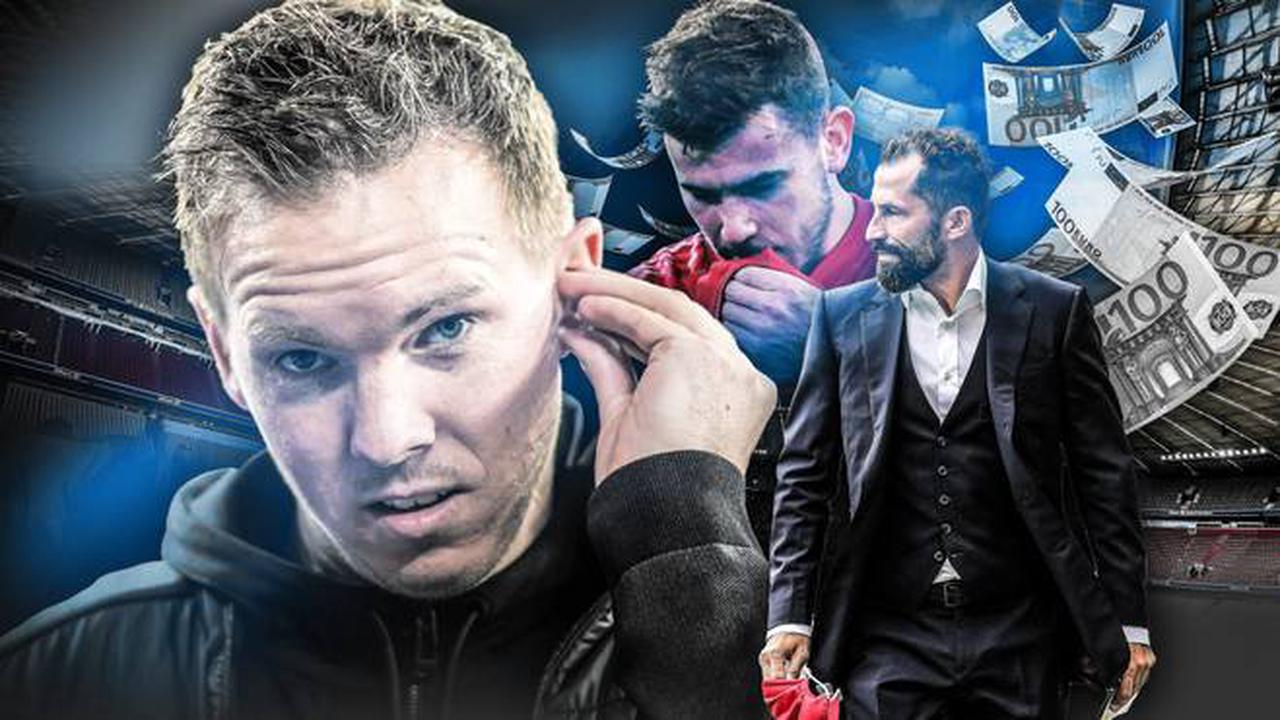FC Bayern verliert Test gegen Neapel - Nagelsmann weiter sieglos