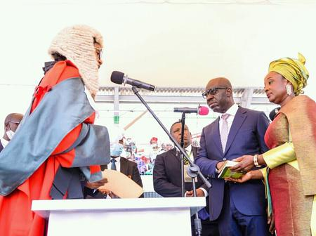 Godwin Obaseki is sworn-in for his second term