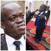 He Is A Dwarf But He Is A Famous Lawyer And Pastor In Nigeria- Meet Barrister Taiwo.