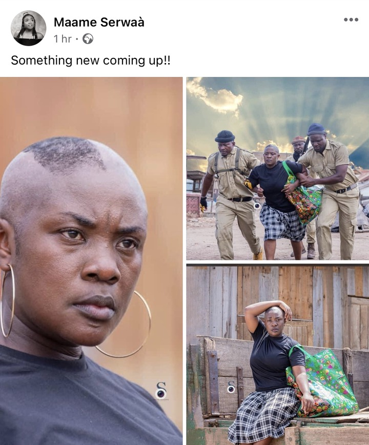 "d7abf6a6f86414dd4faafa6f74b26078?quality=uhq&resize=720 - Emelia Brobbey Stuns Ghanaians With Her New ""Sakora"" Haircut With All Willingness In Her Looks"