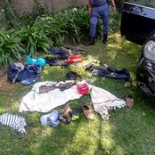 Police are still searching for Peters from Sandton after this happened. Check here