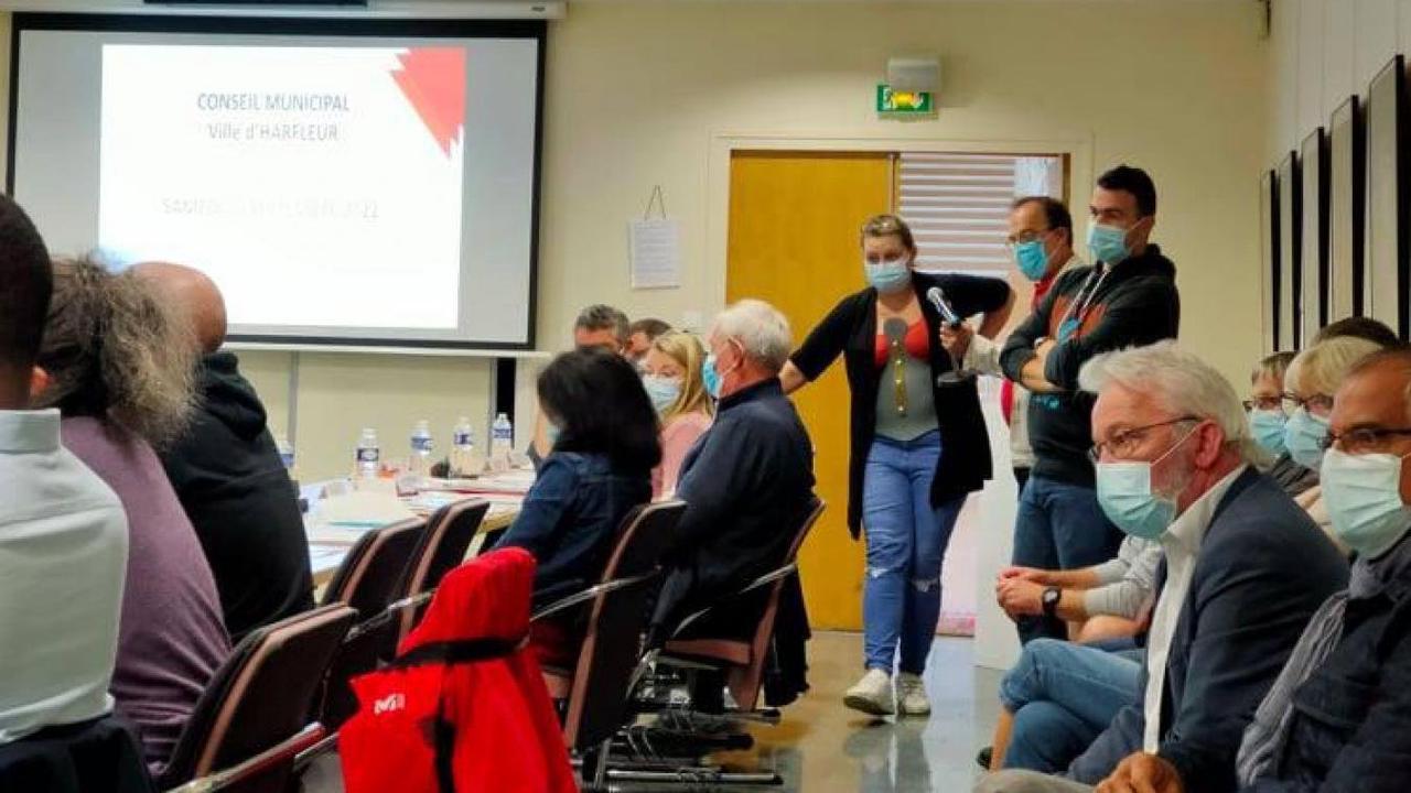 Harfleur: les habitants de Beaulieu mécontents interviennent lors du conseil municipal