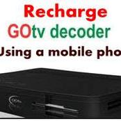 How To Recharge Gotv Using Your Mobile Phone