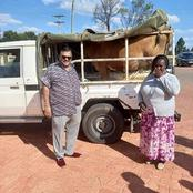 A Woman In Uasin-Gishu Suprises Kesses MP Dr Swarup Mishra With A Cow Gift