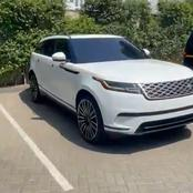 Kuami Eugene surprised with Brand New Range Rover Velar by Dr. Kweku Oteng