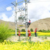 All prefectures, counties in Tibet Autonomous Region connected to State grid
