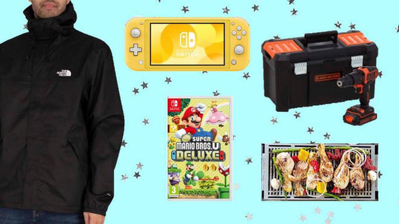 Father's Day gift ideas for men who have everything: Drills, games consoles, clothes and a Korean BBQ
