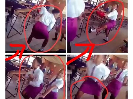 """""""Wonders Shall Never End"""" Check What These Students Were Caught Doing In Class That Got People Alarm"""
