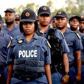 Surprising! This Is How Much The Police In South Africa Reportedly get Paid A Month