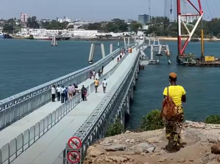 Kenya's First Floating Bridge