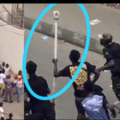 #ENDSARS: See what angry youths did at Oba of Lagos residence that got people talking