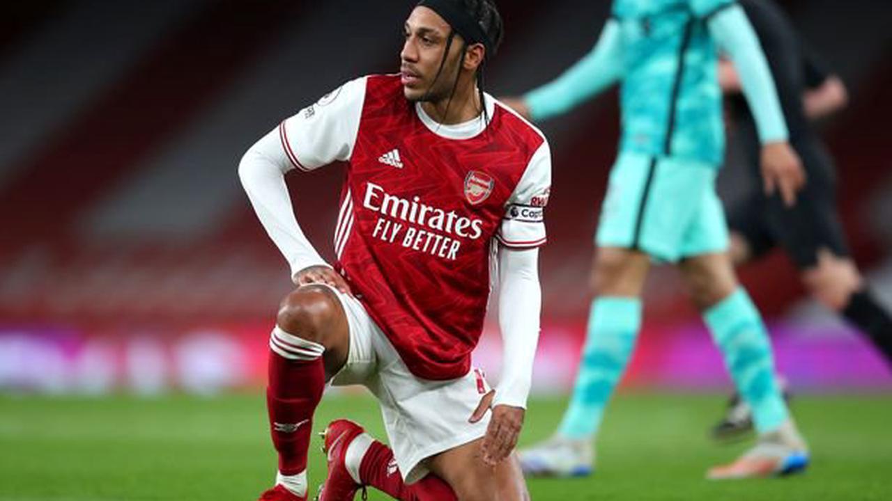 Pierre-Emerick Aubameyang's attitude slammed amid Arsenal struggles
