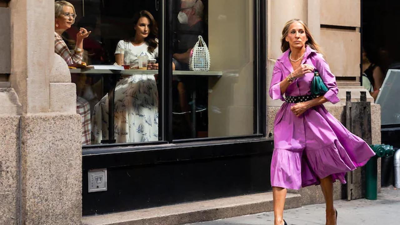 Sex and the City reboot: How Carrie Bradshaw's style has evolved in her 50s