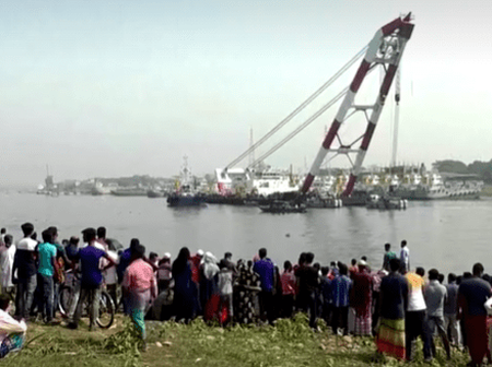 26 People Die In Bangladesh Ferry Accident