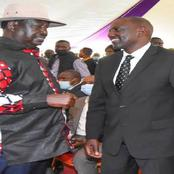 There Is No Coalition Between Dp Ruto And Raila For 2022 Forget, Says Dp Ruto's Ally