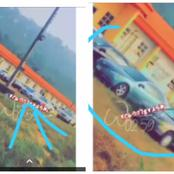 See How AAUA Students Arrived In Luxurious Vehicles To The Examination Halls