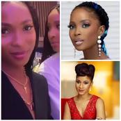 Adesuwa And Jemima Were Spotted Serving Friendship goals With Similar Hairstyle