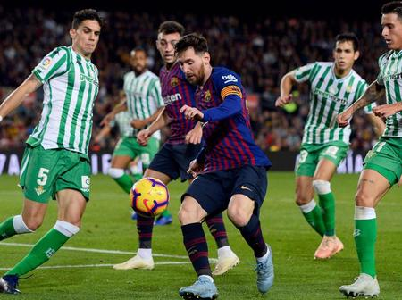 Date and time for La Liga clash with Betis has been confirmed
