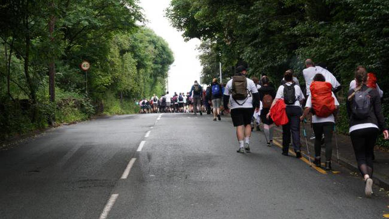 More than 240 people take on Saddleworth Three Peaks challenge for Mahdlo Youth Zone