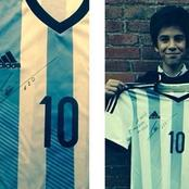 In 2014 Messi Gifted Him A World Cup Shirt, In 2020 They Are Teammates