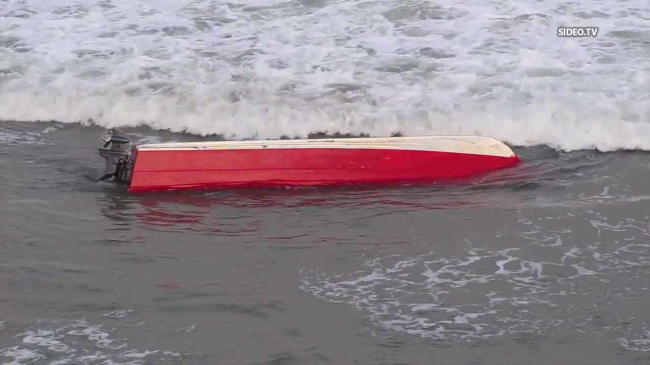 Panga-Like Vessel Found Capsized in Encinitas: USBP