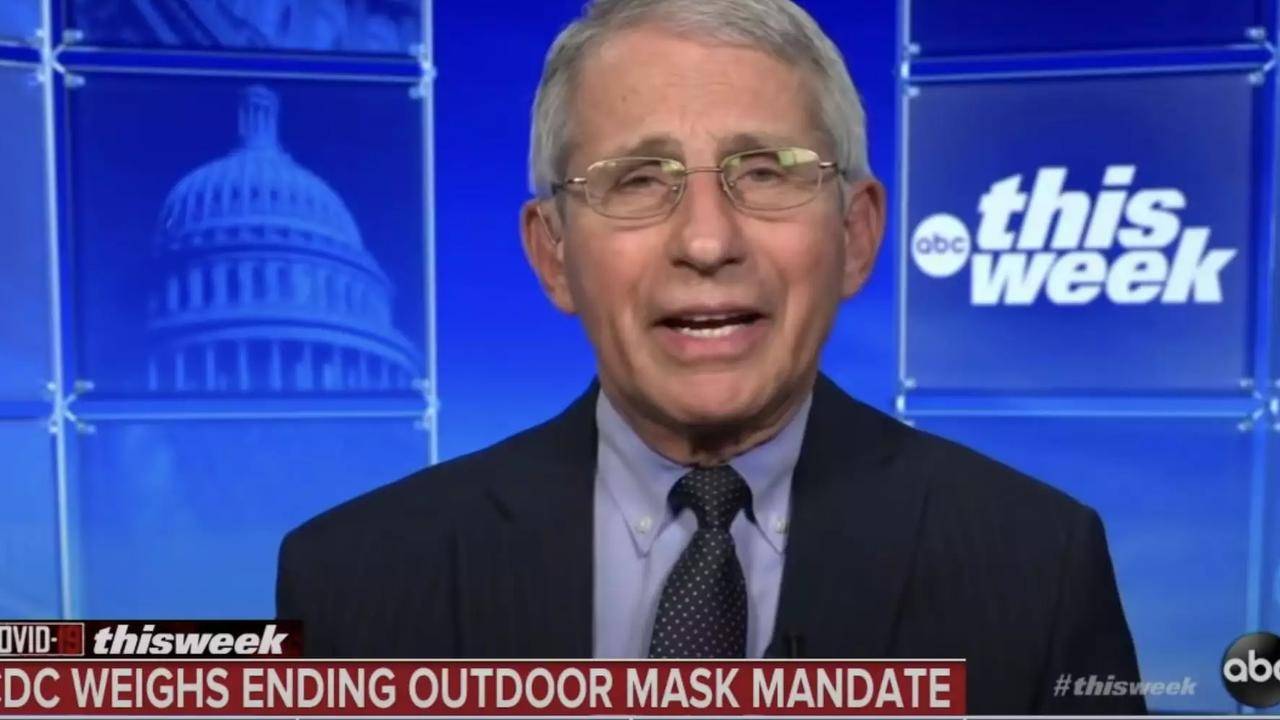 'The Situation Has Changed': Fauci Explains CDC's Shift In Mask Mandates