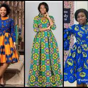 Dear Mummies, Upgrade Your Wardrobe With These Fascinating Ankara Short And Long Gowns