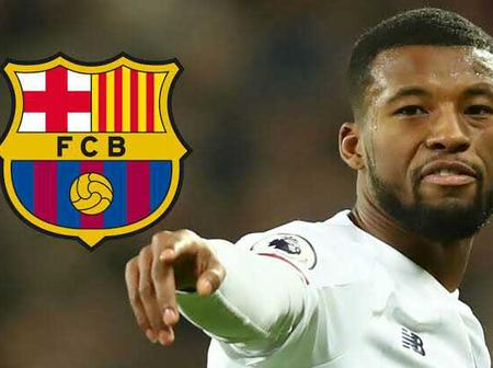 Barcelona could announce the signing of Georginio Wijnaldum during winter.