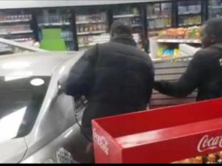 Tragedy As A Salon Car Crashes Into A Supermarket Last Night