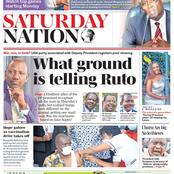 Kenyans React to Saturday Nation Newspaper's Headline,