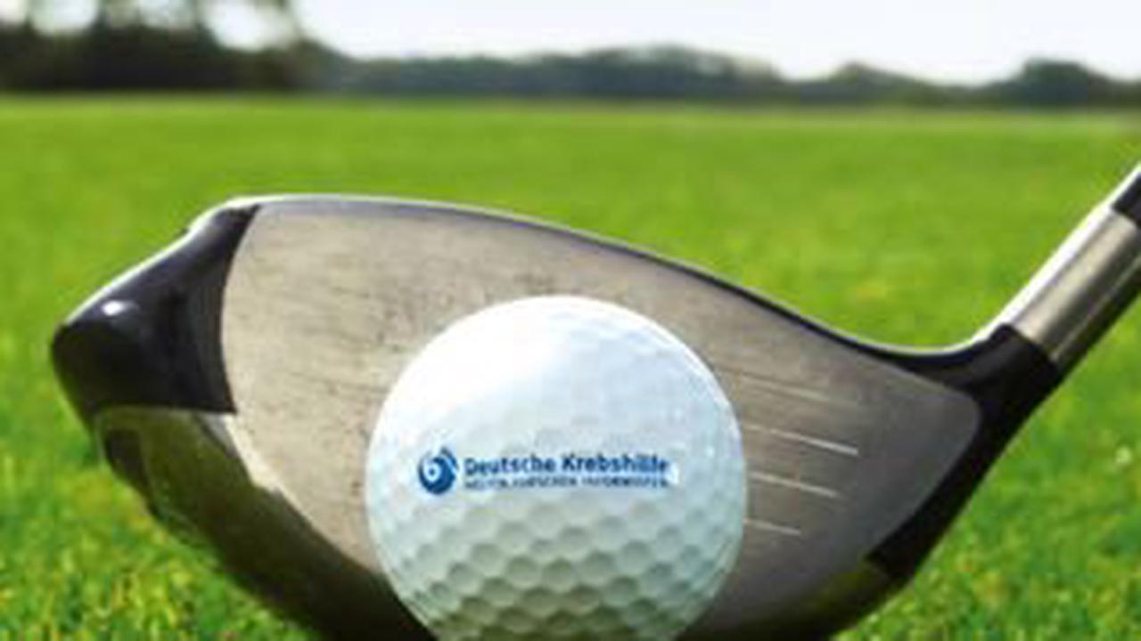 Golfen für die Deutsche Krebshilfe in Steinbach