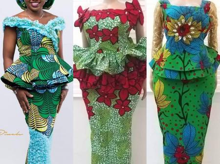 Mothers, look beautiful and attractive in these lovely ankara skirt and blouse outfits this April