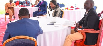 Photos Of William Ruto's Meeting That Has Left Kenyans Wowed