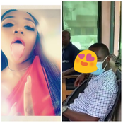 Lady reveals man he hasn't met before has been coming to her office that he wants to marry her