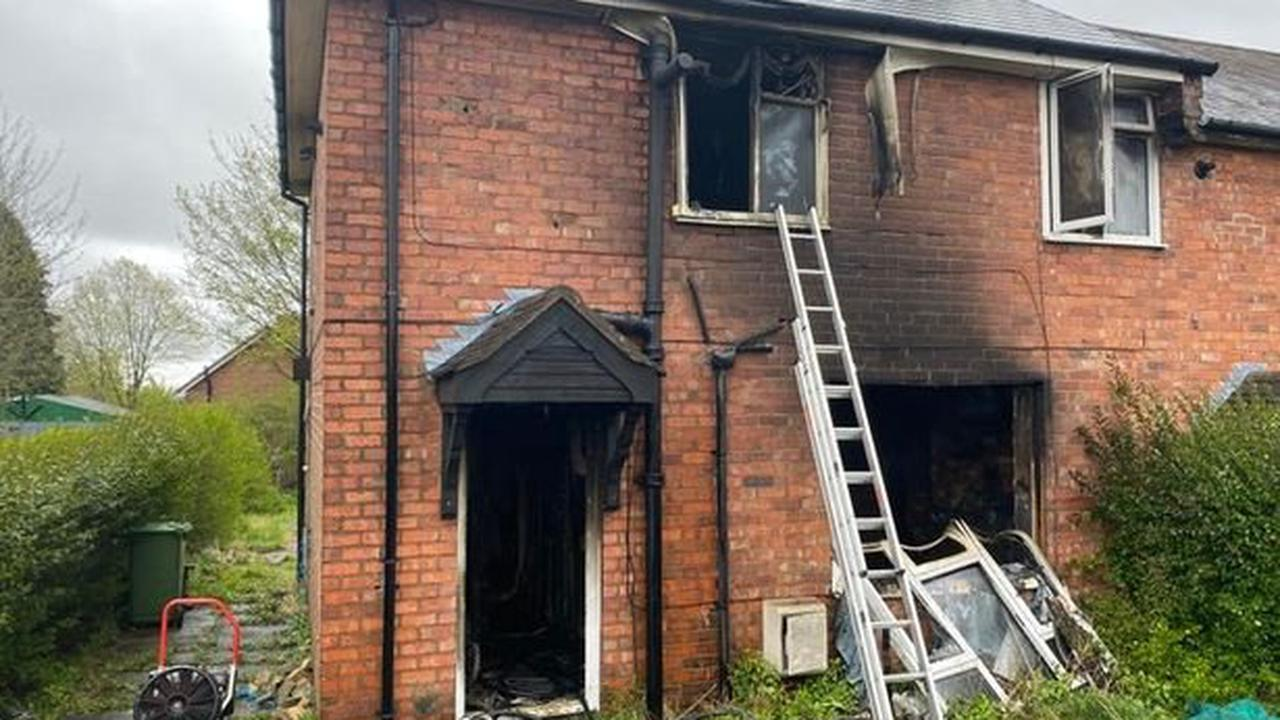 Hero raced up ladder in bid to save much-loved mum from house fire