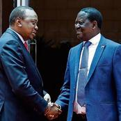 Three Major Political Handshakes Made By Raila With Three Different Presidents