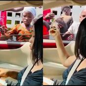 What A Lady Did to Little Children That Sparked Reactions Online (Video)