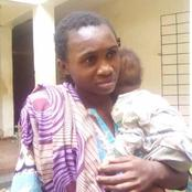 Photo of strange Nigerian woman who tried to sell her baby for N40k emerges