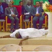 Photos Of Obasanjo, Oshiomhole, Tinubu And Other Top Politicians In Church