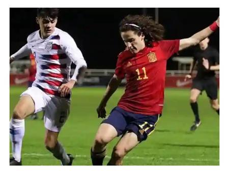 Barcelona and Real Madrid to battle it out for Fabio Blanco of Valencia U-19