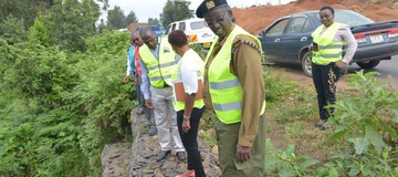 Road that was started 30 years ago almost complete : The Standard