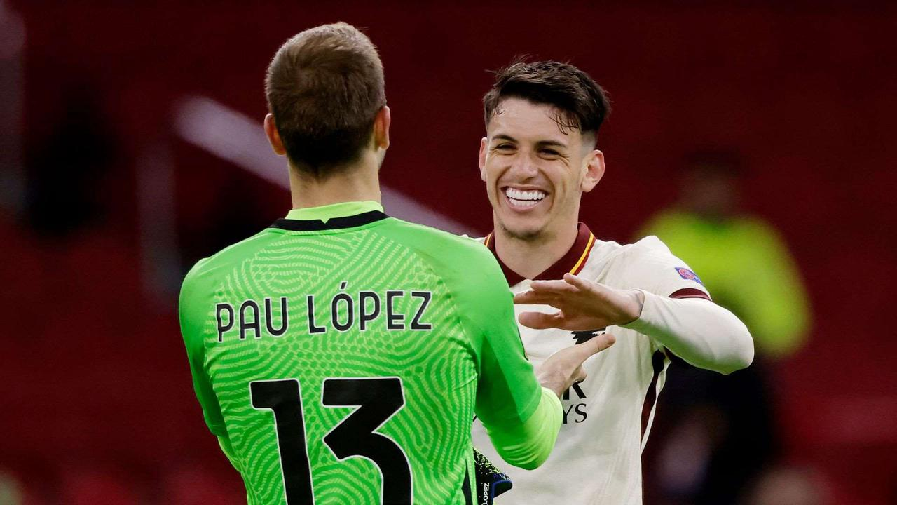 Pellegrini, Ibañez and Lopez the Heroes in Roma's 2-1 Win Over Ajax