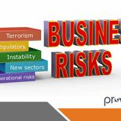 Checkout The Main Types Of Business Risk.