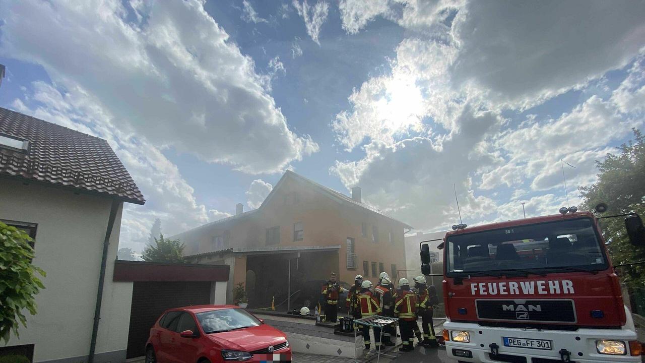 Kellerbrand in Pegnitz im Landkreis Bayreuth