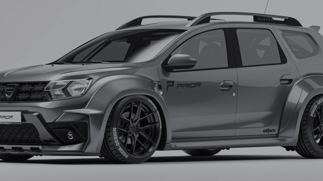 Dacia Duster : un kit carrosserie Prior Design pour 2 999 €