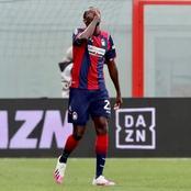 Super Eagles star on target for Italian Serie A giants