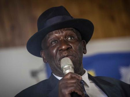 Bheki Cele meets the family of the man killed by police at Wits.